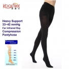 (Far Infrared) Heavy Support 33-42mmHg Far Infrared Compression Opaque Tights