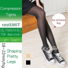 (Far-Infrared Ray) Compression Pantyhose 18-22mmHg