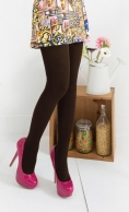 (28001) Warm Colorful Cotton Fashion Tights Pantyhose
