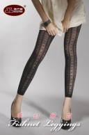 (29250) Fashion Nets Stretch Leggings Footless Tights