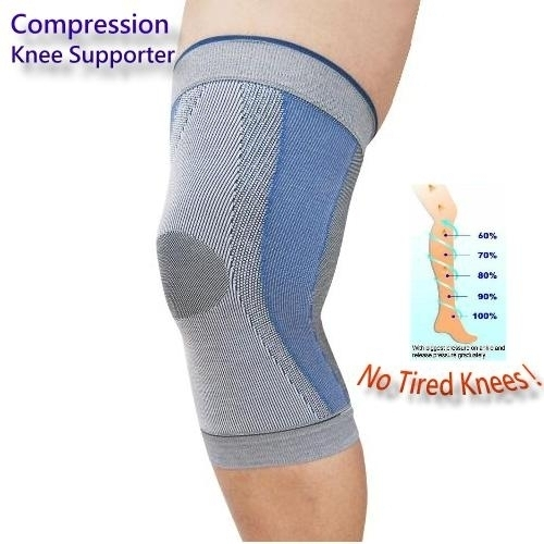 (78005) Sports Compression Knee Supporters