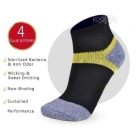(96230) Y Shape Golf Deodorant & Anti-Fungi Cushion Sports Socks