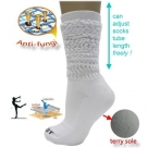 (91201) Aerobic Exercise Antifungi Workout Hooters Slouch Sports Terry Socks