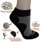 (92202) Yoga Pilates Karate Antibacterial Socks Non Slip Massage Terry Socks
